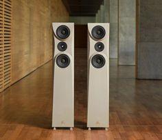 COncrete Audio enceinte High end beton titre