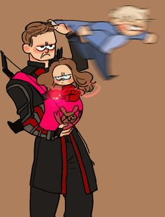 As soon as I saw the farm and Clint's kids, I couldn't help but think of daddy!Hawkeye with the twins for the rest of the movie.