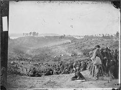 Confederate prisoners awaiting transportation, Belle Plain, Va | Flickr - Photo Sharing!