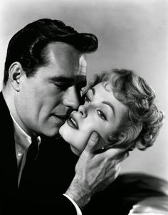"Arlene Dahl & Philip Carey in "" Wicked as They Come"