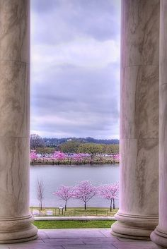 Looking Toward Arlington National Cemetery from the Jefferson Monument (photographer m_powers)