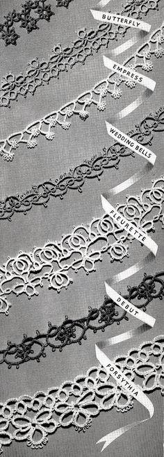 The Art of Vintage Tatting Free Tatting Patterns - Vintage Patterns Dazespast Blog
