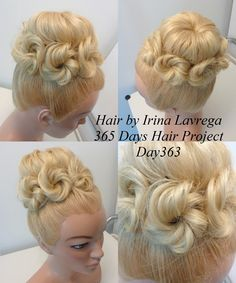 High Braided Crown - 60 Crown Braid Hairstyles for Summer – Tutorials and Ideas - The Trending Hairstyle Fancy Hairstyles, Curled Hairstyles, Summer Hairstyles, Wedding Hairstyles, Hair Shows, Crazy Hair, Website Web, Create Website, Website Ideas