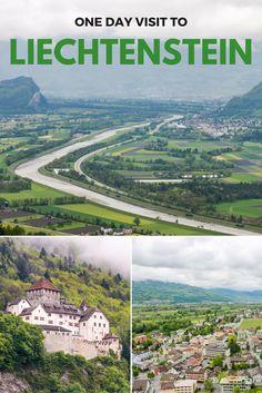 One day visit to Liechtenstein, passing through major locations such as Vaduz and Vaduz Castle, Balzers and Balzers Castle, Triesenberg, and Planken.
