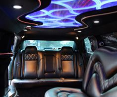 (Interior) Chrysler 300, seats 10 people. Serving the Greater Houston area. Reserve your limo now by calling 281-256-7239. #blackhorselimo