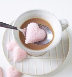DIY sugar cube hearts / Házi készítésű szív alakú kockacukrok /  Mindy -  creative craft ideas