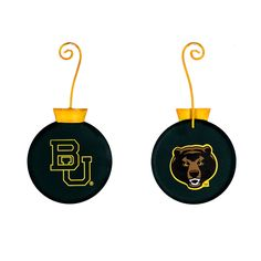 NCAA Baylor University School Ornament The Round Top Collection GY205-BU