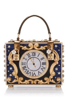 65de054c11 Dolce   Gabbana Enchanted Clock Box Bag. Such Alice in wonderland vibes  Dolce And Gabbana
