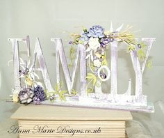 amd Hobbies And Crafts, Crafts To Make, Home Crafts, Diy Crafts, Crafty Projects, Projects To Try, French Boutique, Mixed Media Scrapbooking, 3d Paper Crafts