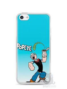 Capa Iphone 5C Popeye - SmartCases - Acessórios para celulares e tablets :)