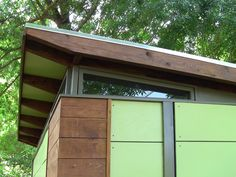 Shed plans for the MD100 Modern ShedGuest House from Readymade
