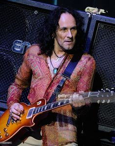 Guitarist Vivian Campbell of Def Leppard performs on the opening night of 'VIVA Hysteria!,' the band's 11-show residency, at The Joint inside the Hard Rock Hotel & Casino on March 22, 2013 in Las Vegas, Nevada.