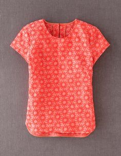 I've spotted this @BodenClothing Daisy Jacquard Top Coral