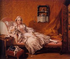 Madame Boucher: 1743 by Francois Boucher  Oil on canvas (The Frick Collection, NYC)
