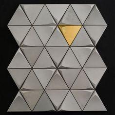 obklad z pohľadového betónu Concrete Tiles, Tile Design, Cards, Inspiration, Concrete Roof Tiles, Biblical Inspiration, Maps, Playing Cards, Inspirational