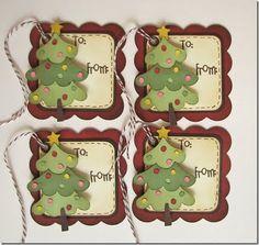 cute Christmas tags!