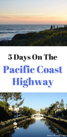 Heading out on California's most iconic road soon? Here's a complete Pacific Coast Highway itinerary for 5 days, including which cities to stop at, what sights to see along the way, and where to stay Usa Travel Guide, Travel Usa, Travel Tips, Travel Articles, Beach Travel, Budget Travel, Travel Ideas, Us Road Trip, Road Trip Hacks