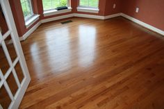 refinish wood floors room by room