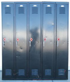 Black Storage Lockers -Image1
