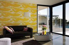 Foulards   Kanagawa by Elitis   Plastics: wall coverings   Wallcoverings / Wallpaper