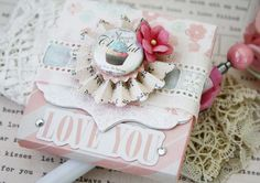 Sizzix Inspiration | Love Notes Notepad by Melissa Phillips