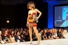 Geek Couture Fashion Show | POPSUGAR Tech - The Fourth Doctor (words cannot express how adorable this is.)