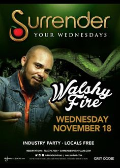 Walshy Fire at Surrender Nightclub