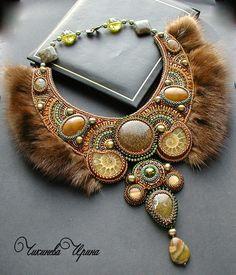 "Necklace beads handmade.  Fair Masters - handmade Necklace ""Legend"".  Handmade."
