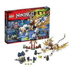 LEGO Ninjago Master Wu Dragon Architecture Building Blocks Model Kit Plate Educational Toys For Children Ghost Armor, Lego Memes, Papercraft Pokemon, Kit, Ghost Decoration, Cool Lego Creations, Buy Lego, Fire Dragon, 6th Birthday Parties