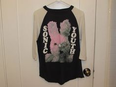 Sonic Youth Vintage Dirty Rare T-Shirt Jersey Gracias Mike Kelley 1992 #Handtex #GraphicTee
