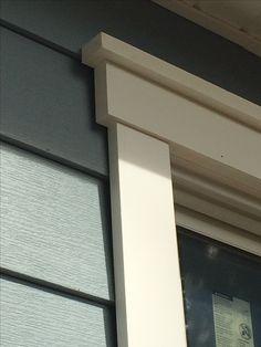 Installation Of Royal Celect Siding With White Color Around The Window,  Azeku2026