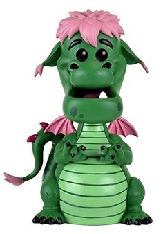 From Pete's Dragon 6' Elliott as a stylized POP vinyl from Funko! Figure stands 6 inches and comes in a window display box. Check out the other Disney figures from Funko! Collect them all!....