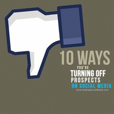 10 Ways You're Turning Off Prospects Online