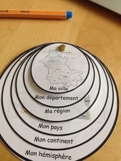 lapbook de géographie