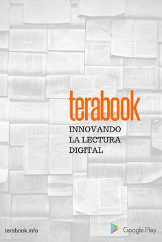 Terabook es una plataforma digital que mejora la experiencia de la lectura. Permite que las personas puedan elegir entre cualquier libro de un catalogo por medio de un pago único mensual e inclusive poder sincronizar libros para lectura offline. Google Play, Landing Pages, Wedge, Reading, Qoutes, People, Books