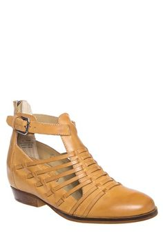 Latigo - Ali Hidden Wedge Huarache Bootie - Saddle