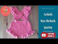 # 49 Baby Girl Shorts With Hook - Knitting Models / Baby Girl Shorts Baby Shorts, Baby Vest, Knit Fashion, Fashion Kids, Girl Fashion, Baby Knitting Patterns, Crochet For Kids, Crochet Baby, Kids Vest