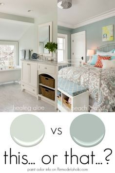 Paint Color Spotlight 2 neutrals to use in high or low light situations for beautiful results