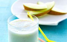 Smoothie med banan og melon