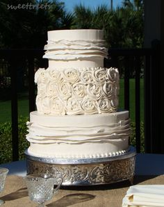 Winter Spring 2012 Wedding Cakes Photos on WeddingWire Wedding Planning Tips, Wedding Tips, Dream Wedding, Floating Candles, White Candles, Wedding Cake Photos, Wedding Cakes, Pretty Cakes, Beautiful Cakes
