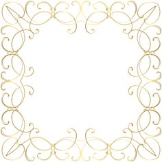 Decorative Frame Border PNG Image