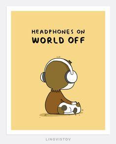Doodle Prints - Shop.lingvistov.com #funny, #illustrations, #doodles, #joke, #humor, #cartoon, #cute, #comics, #print, #gifts, #posters, #quote, #music, #ilovemusic