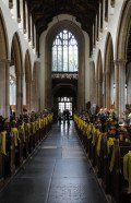 A Festival of flowers with Songs of Praise