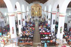 En el marco de la misa del deporte. / LA VENEZUELA DEPORTIVA REUNIDA