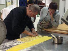 Learning how to prepare ravioli!