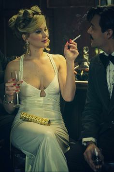 Jennifer Lawrence. Loved her in american hustle