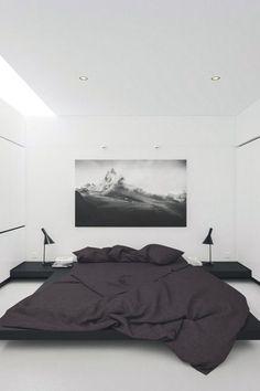 livingpursuit:Apartment in Poland by Andrzej Chomski More #MasculineBedding #DesignerBedSheets