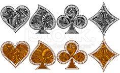 diamond spade illustration - Google Search