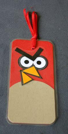 Ela est là: Angry Birds bookmarks