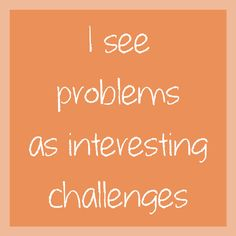 How do you see problems? #theholhome #challenges #perspective